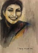 """7""""x9""""Self - study: Watercolour"""