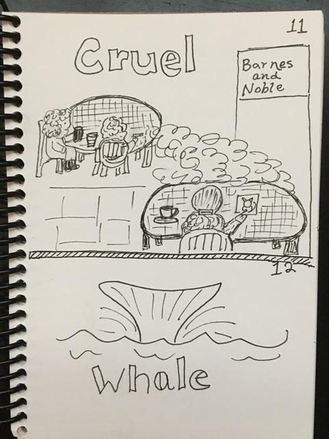 cruel, whale