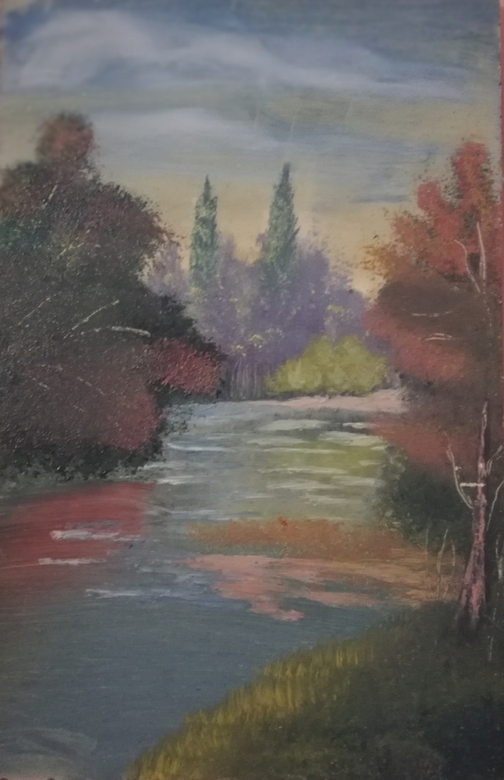 1st oil painting