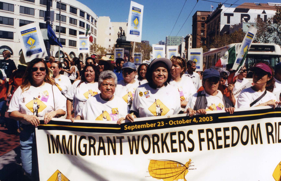 The Long Ride IWFR March with Dolores Huerta 300 dpi