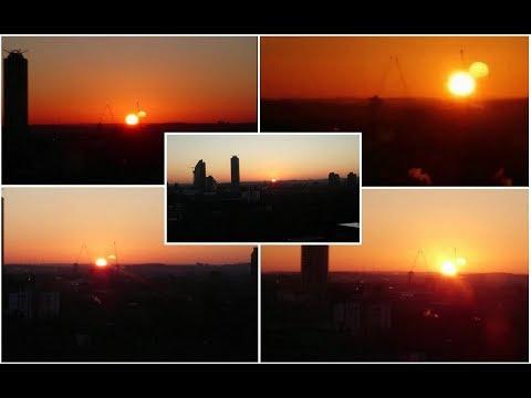 Нибиру на восходе Солнца - December 8:06am  2017 am in London.
