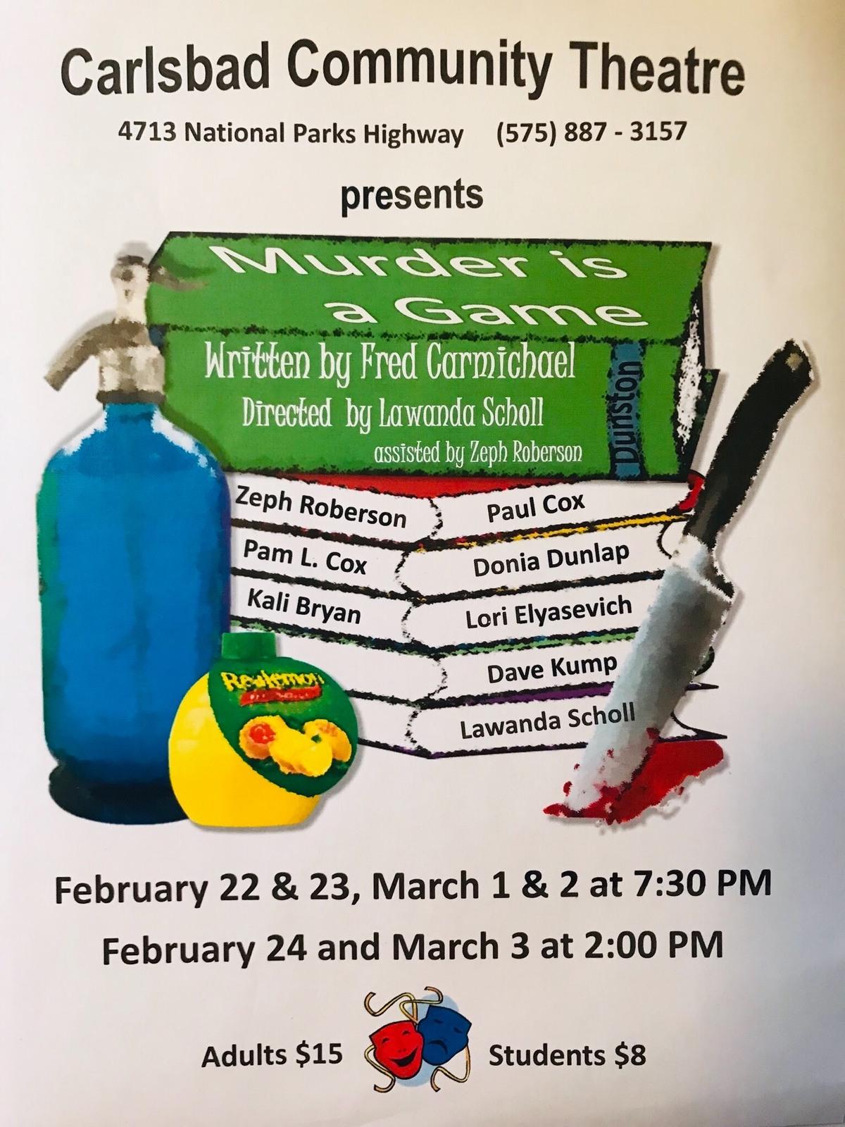 Carlsbad Community Theater!