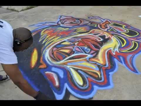 Street Art Graffiti by Atlanta Mural Artist Corey Barksdale •  I Got My Life by Nina Simone