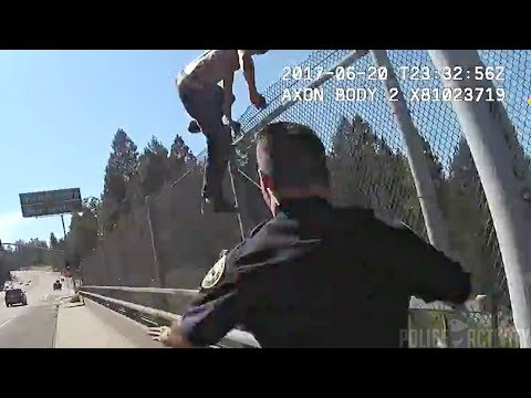 Grass Valley Officers Save Man From Jumping Off Highway Overpass