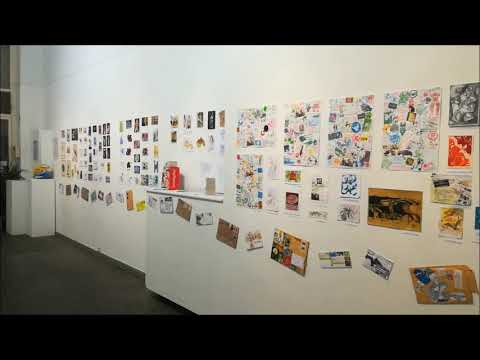 THE POST mail art Project at EOS GALLERY/THE POST mail art Project στη Γκαλερί Ηώς