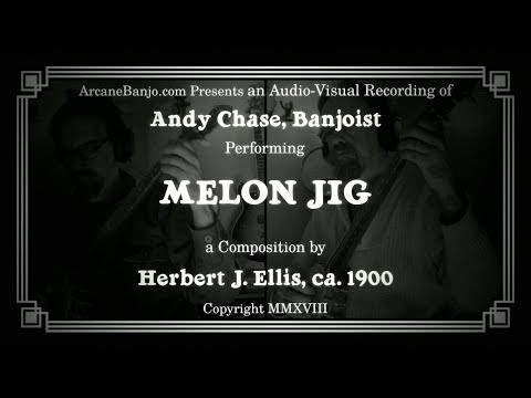 Melon Jig - classic fingerstyle banjo duet played by Andy Chase