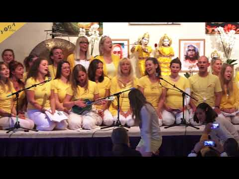 Govinda Hare Gopala Hare - Yoga Teacher Training Group - May 2018