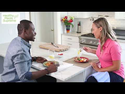 Healthy Meals Supreme~Hard At Work For You! NEW Meal Plan Service Group Promo Video