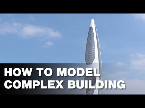 How to Model Complex Building in Rhino