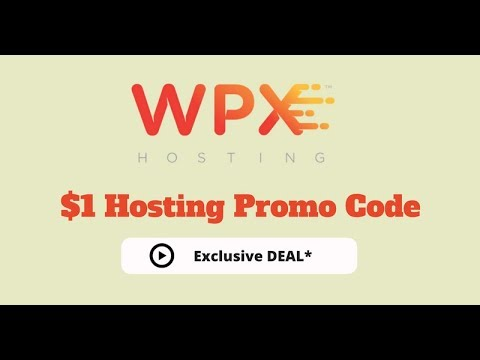 WPX Hosting Promo Code: $1 Hosting ONLY A Month! [April 2018]