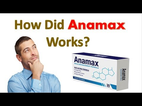 Anamax Male Enhancement Supplement With Optimum Sexual Benefits