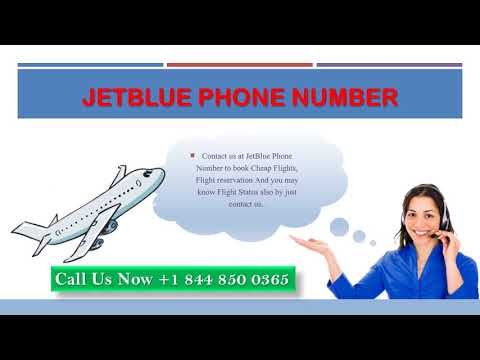 Get JetBlue Information with JetBlue Customer Service Number