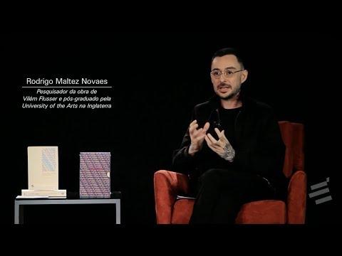 Palestra de Rodrigo Maltez Novaes sobre a Biblioteca Vilém Flusser