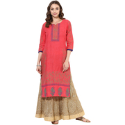 Long kurtas for ladies online | Limited time offer UP TO 65%