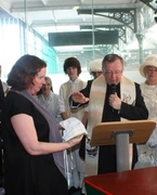 Roses from the Heart - 'Blessing of the Bonnets' ceremony