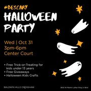 Free Halloween fun at Baldwin Hills Crenshaw