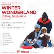 Free Winter Wonderland Celebration at Baldwin Hills Crenshaw
