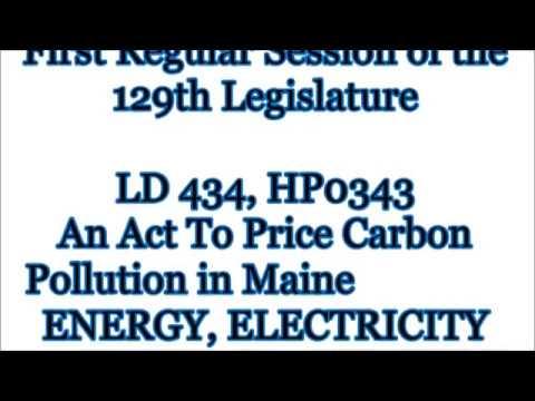 Maine Carbon Tax