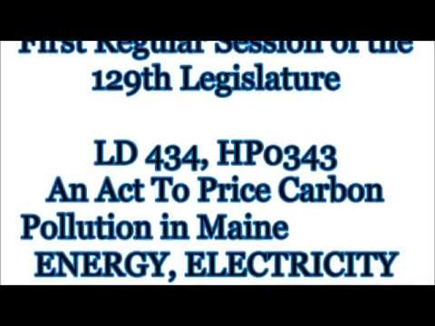 Maine Carbon Tax