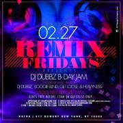 Remix Fridays DJ Dubbz Birthday Bash at Katra