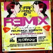 Remix Fridays Relaunch Party For Djfatfingaz.com at Katra