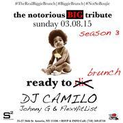 The Notorious BIG Tribute Brunch DJ Camilo Live at Studio Square