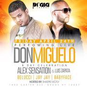 Don Miguelo Live With Alex Sensation At Praia
