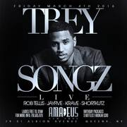 Trey Songz Live At Amadeus Nightclub