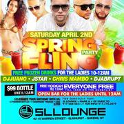 Spring Fling Party At SL Lounge