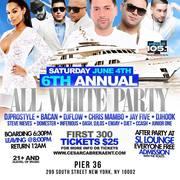 6th Annual All White Party DJ Prostyle Live At Pier 36