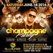 Champagne Party at SL Lounge