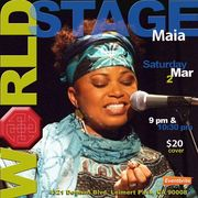 """MAIA ♀ Quintet """"We 'R' Going to Africa Concert""""·""""Womens' History Month - Kick-Off Wkend"""""""