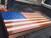 Flag Gun Cabinet