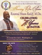 7th Pastoral Anniversary Banquet Advertisement