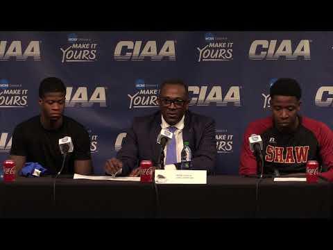 Shaw University Men's Basketball Post-Game (3/2/19)