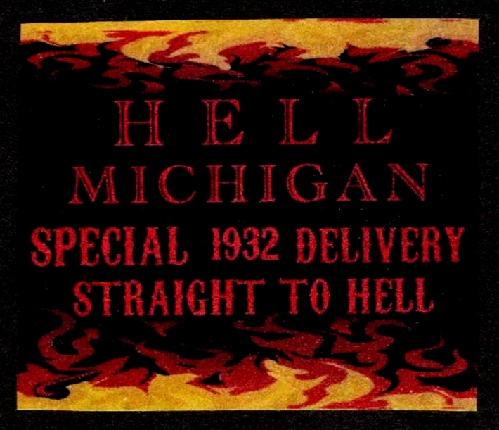 Hell Michigan Artistamp