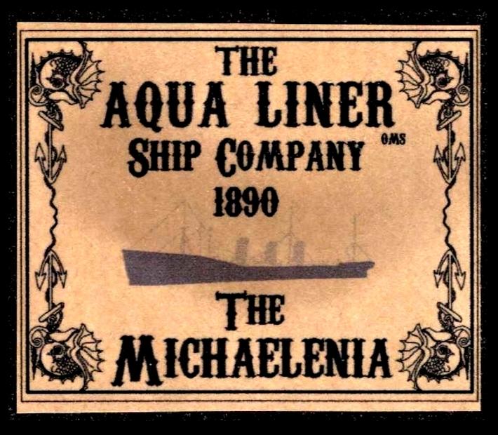 1890 Aqua Linter Shipping Company