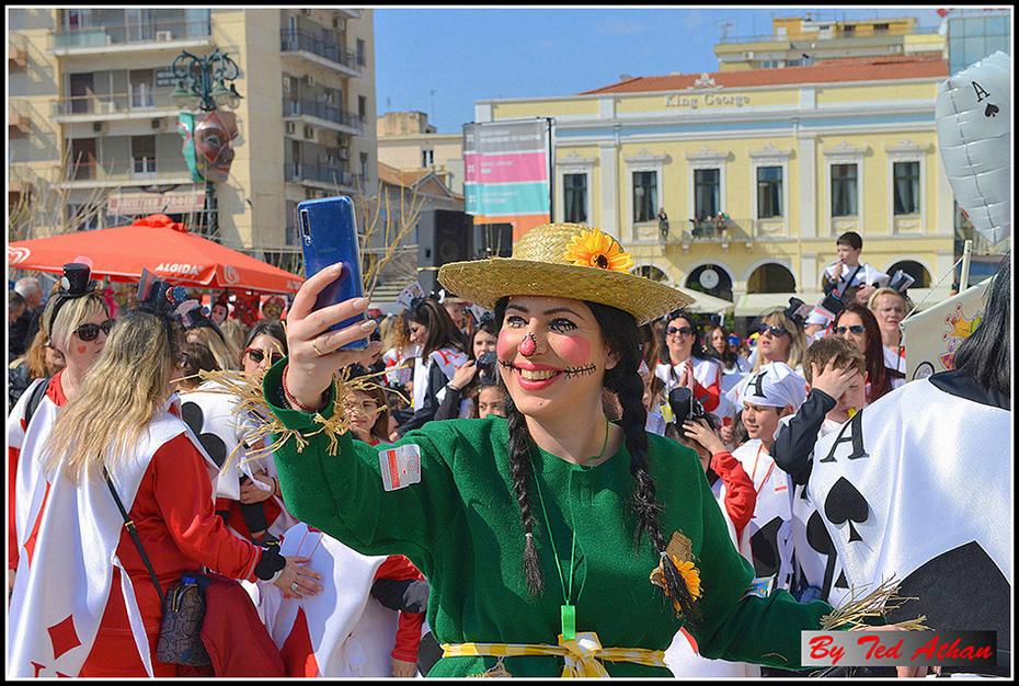 Carnival self-portrait