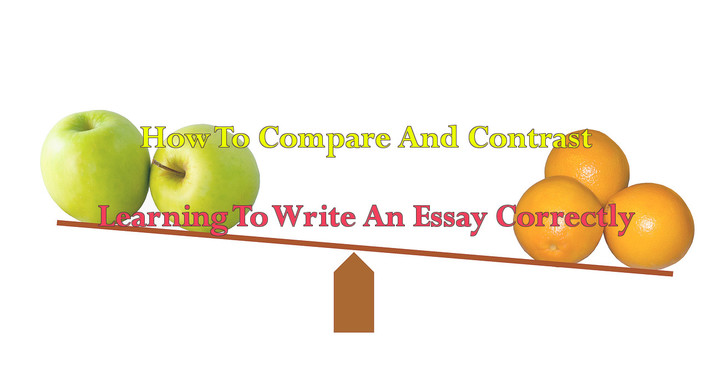 How Easy To Write Comparison And Contrast Secrets Of Professionals