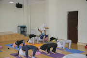 Yoga Teacher Training Class in Rishikesh India