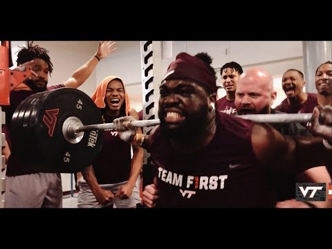 Virginia Tech Football - #BigSquatFriday
