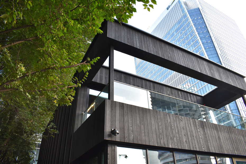 Charred Timber Cladding Supplier London