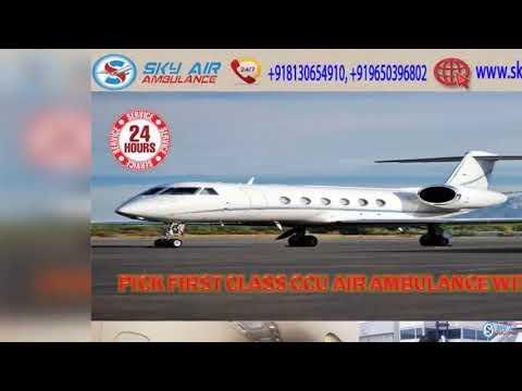 Receive Gaya's Fastest Air Ambulance with Specialist Medical Team