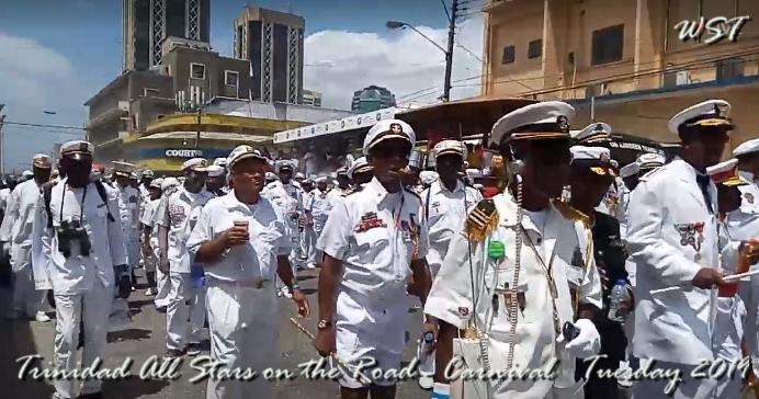 Trinidad-All-Stars on the road -- 2019
