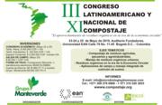11 Congreso Nal y 3 Latino Compostaje Mayo 2019
