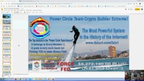 Crypto Builder Force Fed Self Building by the Power Circle Team Webinar Replay 27th Feb 2019