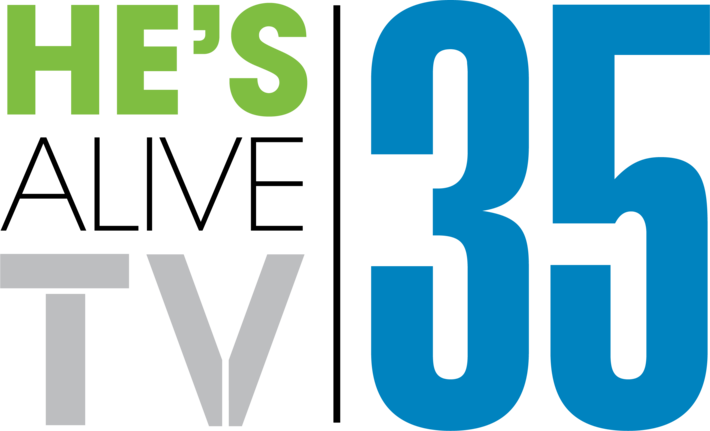 Hes Alive Broadcasting Logo