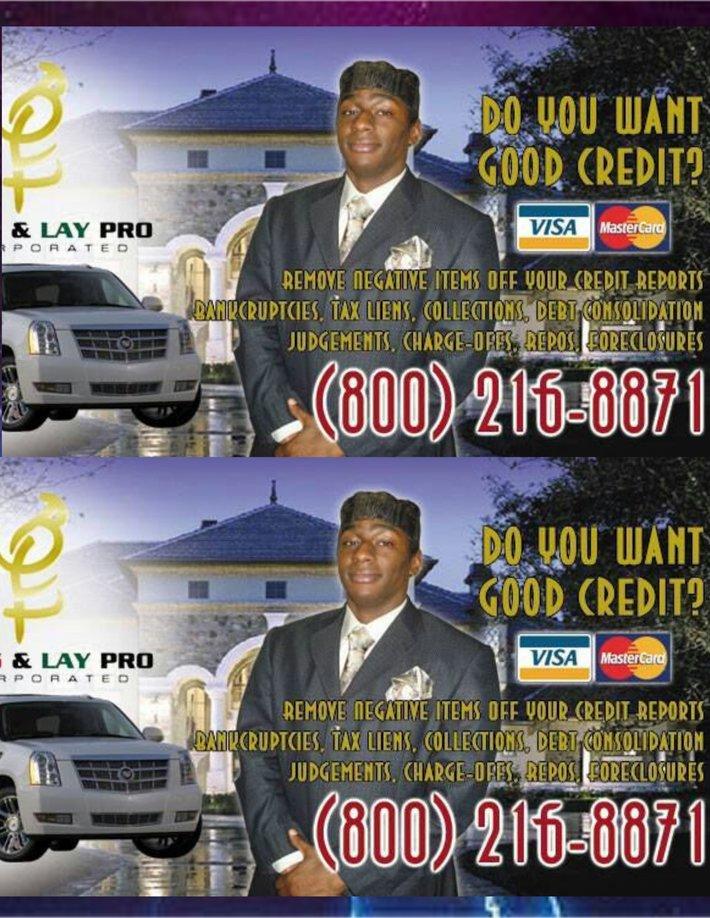 Chayo Briggs/ Credit repair services - Forum - hip hop humanism