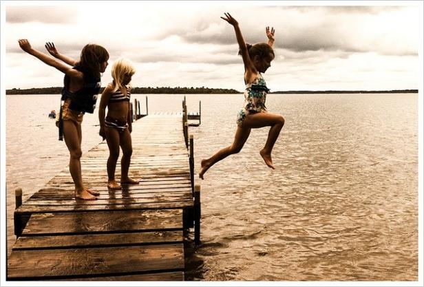 Leap of Faith and Fun...
