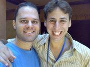 Eli and Eyal in Jordan